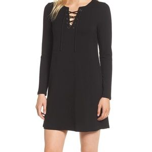 Cupcakes and Cashmere lace-up minidress